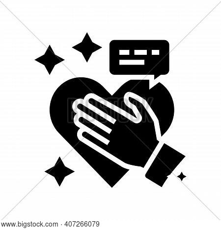 Honesty Soft Skill Glyph Icon Vector. Honesty Soft Skill Sign. Isolated Contour Symbol Black Illustr