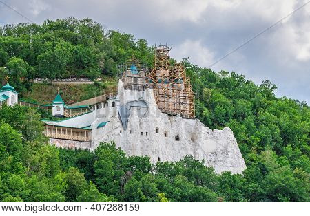 Nicholas Church On The Holy Rock In Svyatogorsk