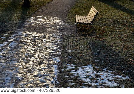 Attempt, Background, Bench, Brown, City, Cold, Danger, Dangerous, Dirt, Early, Europe, February, Foo