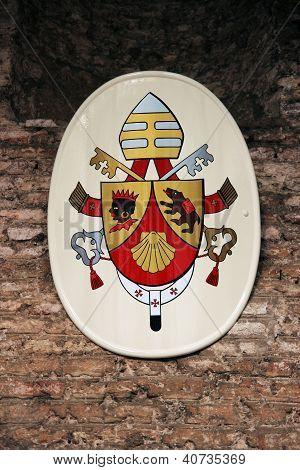 Brasão do Papa Bento Xvi