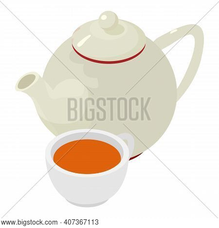 Linden Tea Icon. Isometric Illustration Of Linden Tea Vector Icon For Web