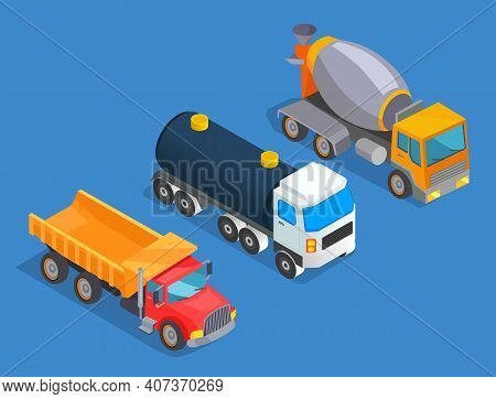 Oil Transportation. Truck, Tank, Heavy Transport. Transportation Of Petroleum Products. Oil Industry