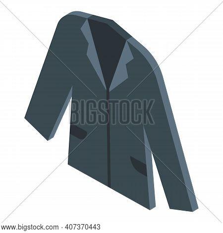 School Uniform Blazer Icon. Isometric Of School Uniform Blazer Vector Icon For Web Design Isolated O