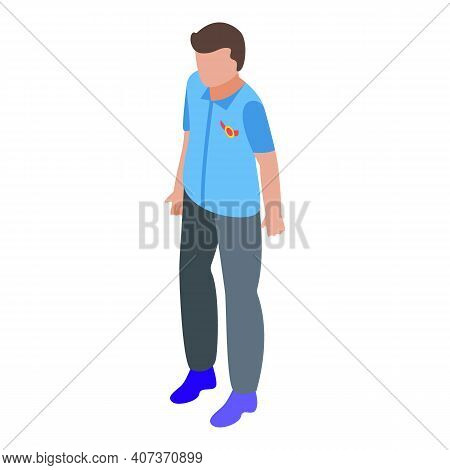 Royal School Uniform Icon. Isometric Of Royal School Uniform Vector Icon For Web Design Isolated On