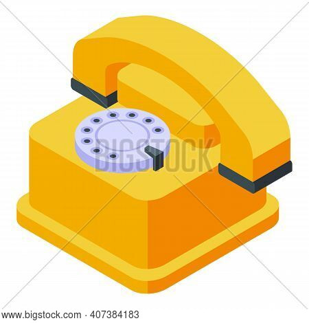 Agent Phone Icon. Isometric Of Agent Phone Vector Icon For Web Design Isolated On White Background