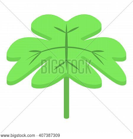 Park Clover Icon. Isometric Of Park Clover Vector Icon For Web Design Isolated On White Background