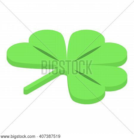 Clover Plant Icon. Isometric Of Clover Plant Vector Icon For Web Design Isolated On White Background