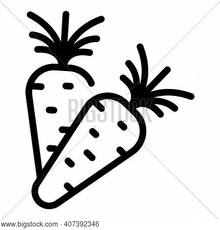Genetically Food Icon. Outline Genetically Food Vector Icon For Web Design Isolated On White Backgro