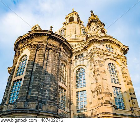 Frauenkirche in the morning, Dresden, Germany