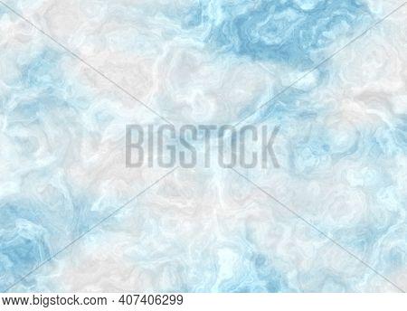 A Digitally Created Marbled Cloudy Sky Texture.