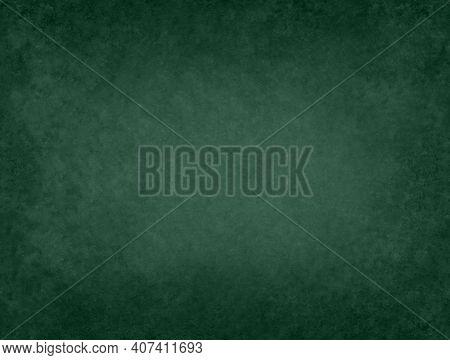 Green Blackboard Chalkboard Texture.empty Blank Black Chalkboard.school Board Background With White