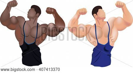 People In Bodybuilding Position Bodybuilding People In Bodybuilding Position Bodybuilding