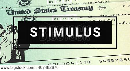 United States Stimulus Checks News. Relief Program Update
