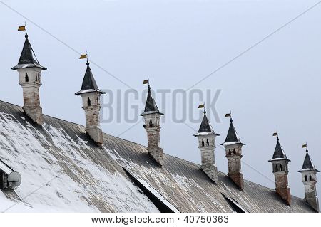 Chimneys Of The Tzar Palace