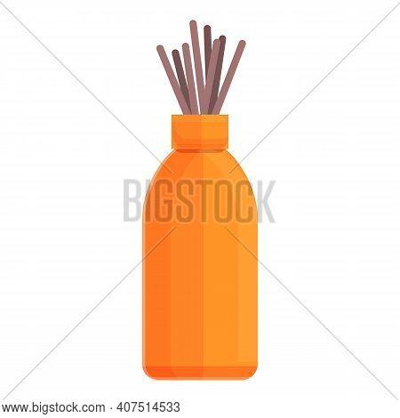 Air Freshener Sticks Icon. Cartoon Of Air Freshener Sticks Vector Icon For Web Design Isolated On Wh