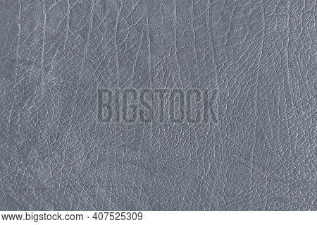 Gray Creased Leather Textured Background High Quality