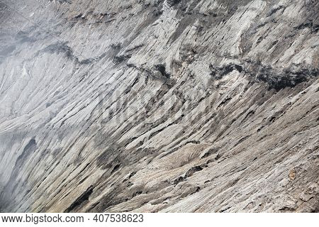Solidified Lava Texture. Hills Of Volcanic Origin. Abstract Natural Background. Surface Of The Earth