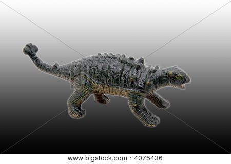 An image of dinosaur in shadows from toy poster