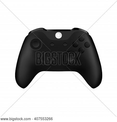 Game Controller In Vector.joystick Vector Illustration.gamepad For Game Console.the Joystick For The