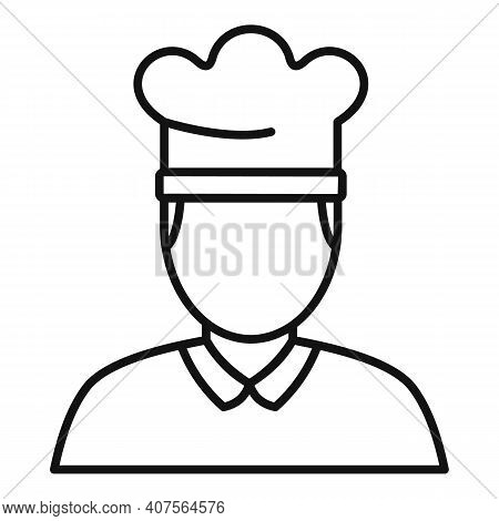 Cook Icon. Outline Cook Vector Icon For Web Design Isolated On White Background