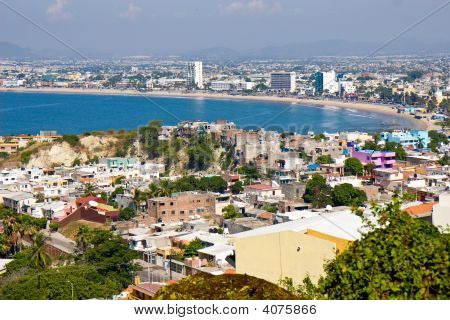Overlooking Mazatlan Mexico