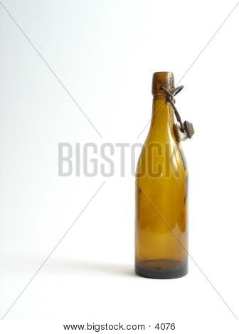 Bottle On White Background