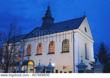 Mother Of God Church In Rzeszow. Rzeszow, Subcarpathia, Poland.