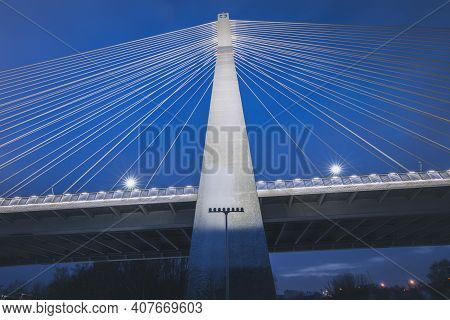Mazowiecki Bridge In Rzeszow. Rzeszow, Subcarpathia, Poland