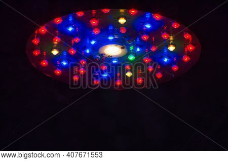 Led Full Spectrum Growing Lights Which Is Used For Indoor Growing Plants.
