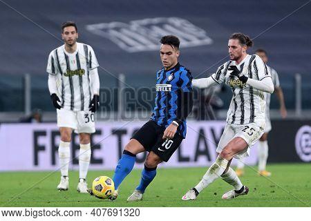 Torino, Italy. 09th Fabruary 2021 . Lautaro Martinez Of Fc Internazionale  During The Coppa Italia S