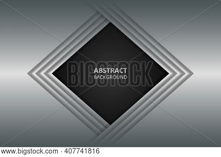 Modern Geometric Abstract Metal Texture Background. Steel Metal Texture.
