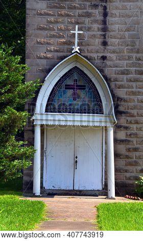 Catholic Church In Small Town Arkansas