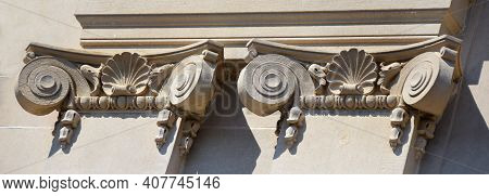 Beaux Arts Style On Ruston State Bank