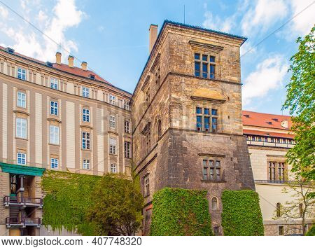 Ludwig Wing Of Old Royal Palace On Prague Castle - The Place Of Second Prague Defenestration, Prague
