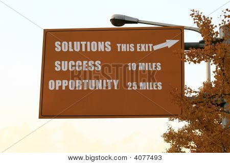 Solutions Success And Opportunity