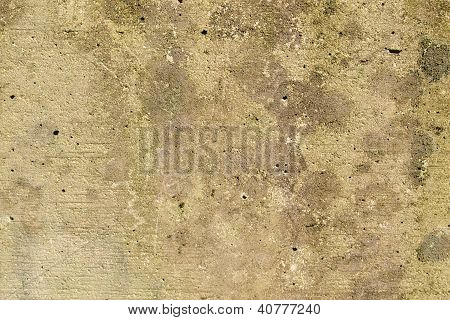Grey reinforced concrete wall texture useful as a background poster