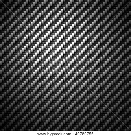 Carbon Fiber Textured Background