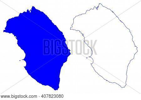 Lecce Province (italy, Italian Republic, Apulia Region) Map Vector Illustration, Scribble Sketch Pro