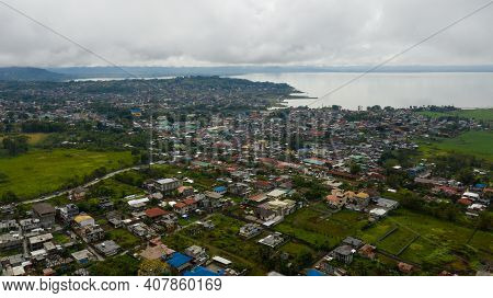 Aerial View Of Marawi City Located On The Shore Of Lake Lanao Restored After The Attack Of Terrorist