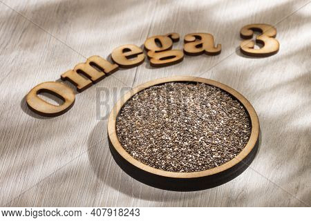 Organic And Healthy Chia Seeds - Omega 3