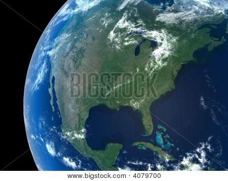 Earth - Noth America