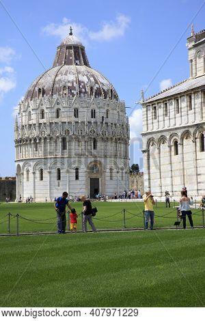Pisa (pi), Italy - June 10, 2017: The \