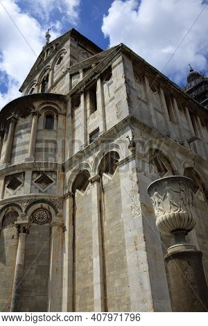 Pisa (pi), Italy - June 10, 2017: The Cathedral In \\\