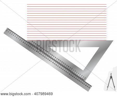 Лінійка метал+косинець4