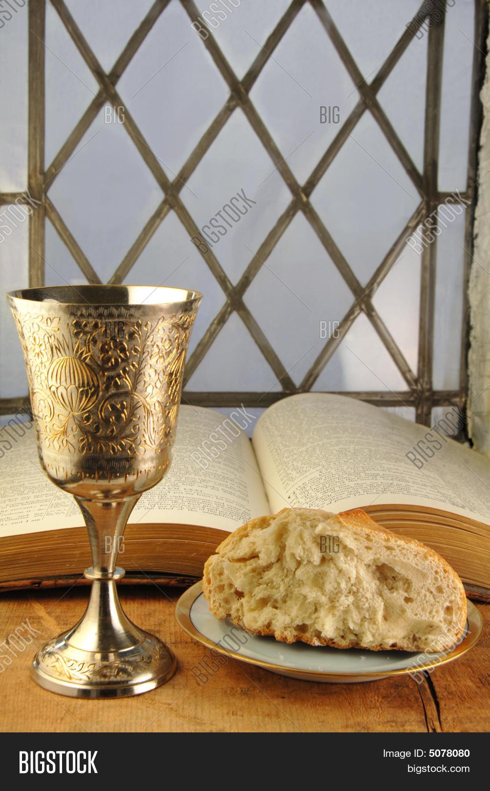 communion bread wine image photo free trial bigstock