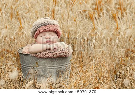 Autumn country baby