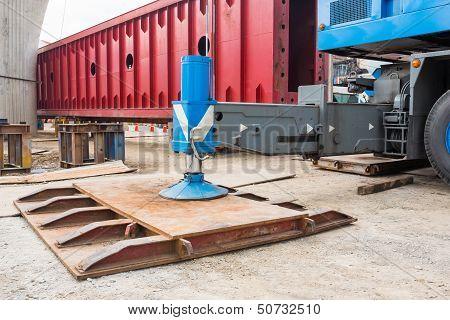 Crane Outrigger Pad