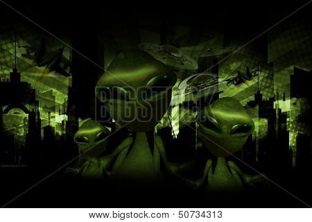 Aliens Invasion Theme