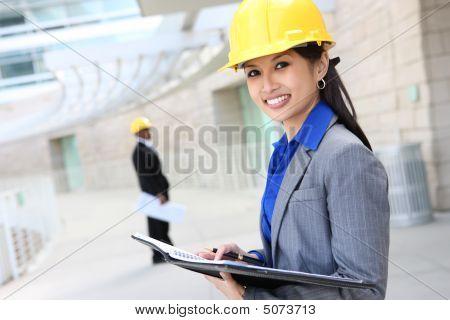Asian Woman Architect