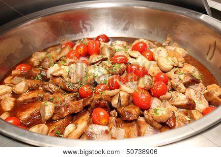 Pork With Gravy Sauce